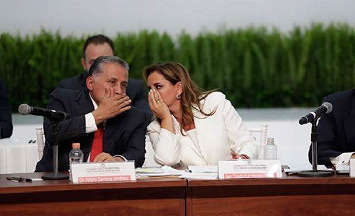 Ruiz Massieu espera que no se politice consulta sobre expresidentes