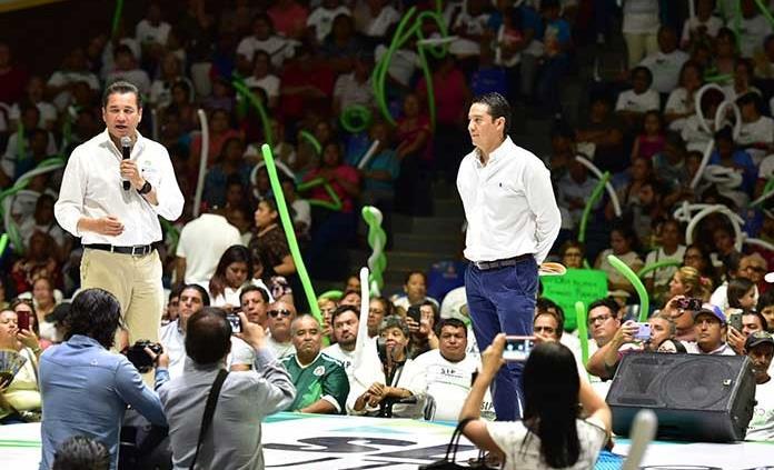 """Oficializan trasvase de """"gallardía"""" al Verde"""