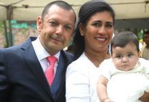 Victoria Loza Torres es bautizada