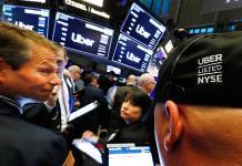 Uber debuta en bolsa con pérdidas del 5.51 %