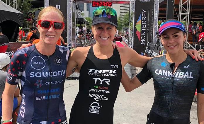 Lauren Goss y Brent McMahon ganan Ironman 70.3 Monterrey 2019