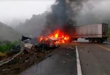 Mueren tres en accidente sobre tramo Ciudad Valles-Rayón (FOTOS)