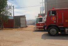 Arde empresa de cartón en la Zona Ind.