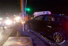 Choque de dos autos deja un lesionado