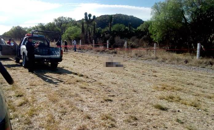 Hallan a hombre ejecutado en Villa de Arriaga