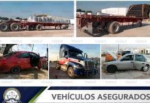 Incauta la Fiscalía una flotilla de vehículos robados