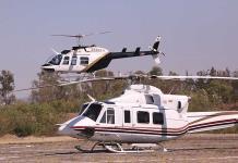 Se contratan dos helicópteros para combatir siniestro