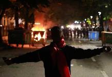 Continúan las protestas en Albania