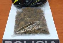 Joven es detenido con mariguana en su poder