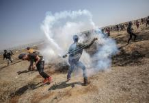 """Decenas de palestinos heridos en aniversario del """"Día de la Catástrofe"""