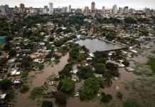 Inundaciones dejan 40 mil desplazados en Paraguay