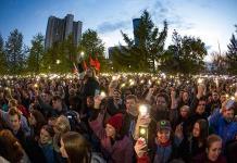 Miles de rusos protestan contra la construcción de una iglesia en un parque