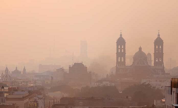 Contaminación asfixia la CDMX