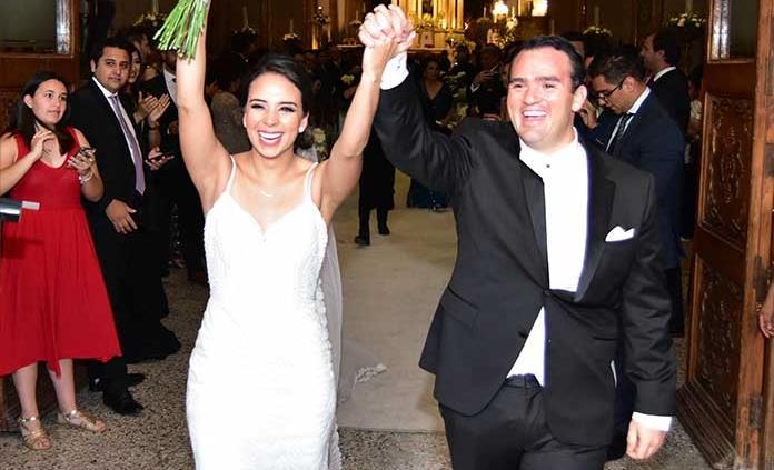 Edlin Rodríguez Maldonado y Luis Leal efectuaron sus esponsales