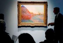 """""""Meules"""" de Monet marca nuevo récord del pintor"""