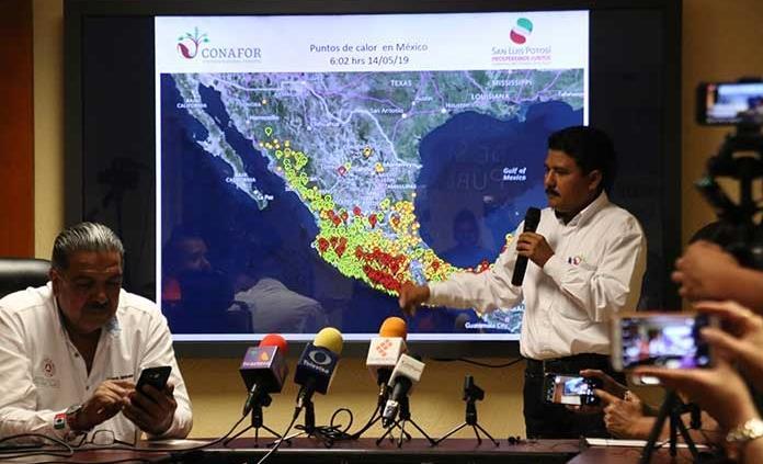 Registran nuevo incendio, ahora en Guadalcázar