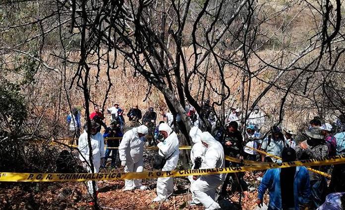 Ubican 222 fosas ilegalesy 337 cuerpos