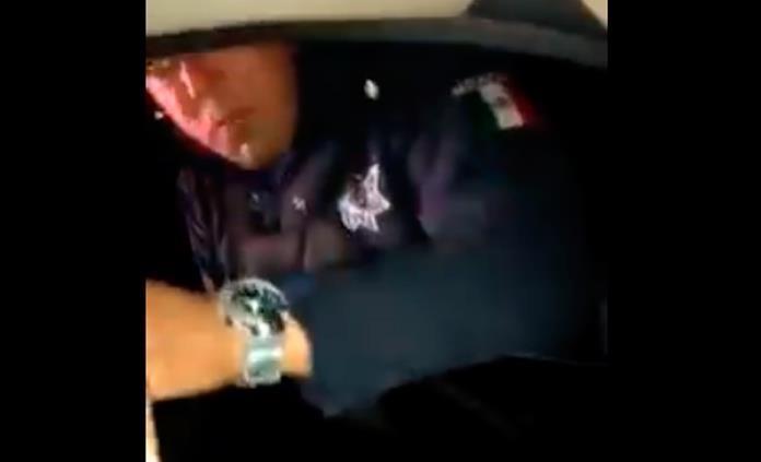 Patrulla usada por policías abusivos sale de circulación