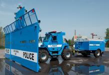 Riot System, un monstruo policial antidisturbios