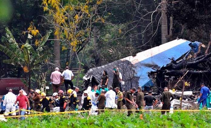Autoridades cubanas revelan causas del accidente aéreo de 2018
