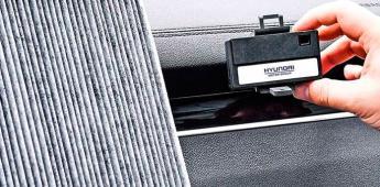 Hyundai pondrá monitoreo del aire a sus autos