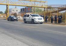 Detonaciones e intento de robo a pasajeros de camioneta de lujo en carretera a Zacatecas