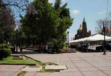 Arrestan en la Alameda Juan Sarabia a hombre que lesionó con un cuchillo a otro