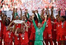 Lágrimas en el título de liga del  Bayern Múnich