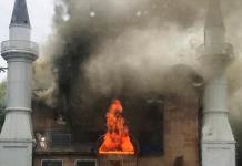 Tras incendio en mezquita de EEUU, ofrecen recompensa