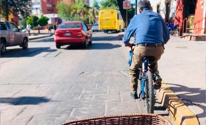 Urgen a crear infraestructura para la bicicleta
