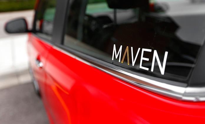 GM cerrará su servicio de renta de autos Maven en 8 mercados