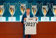 El Real Madrid renueva a Tony Kroos hasta 2023