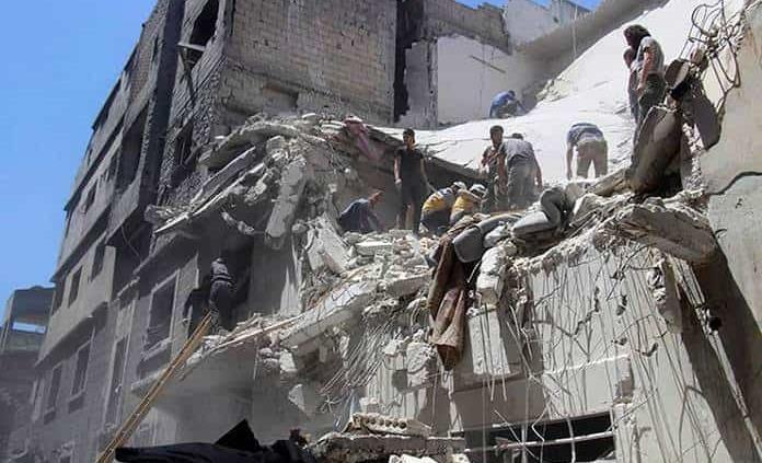 Nuevos bombardeos del régimen sirio en Idlib, 7 civiles muertos incluidos niños