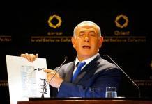 Irán debe ser sancionado si rebasa reserva de uranio enriquecido: Netanyahu