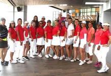 Campeonas en el golf