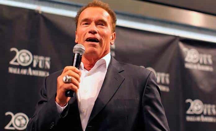 Arnold debuta como rapero