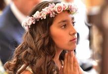 Camila Alcalde Puente reafirma su fe a Dios