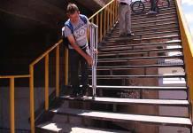 Puente Universidad, adverso para personas con discapacidad