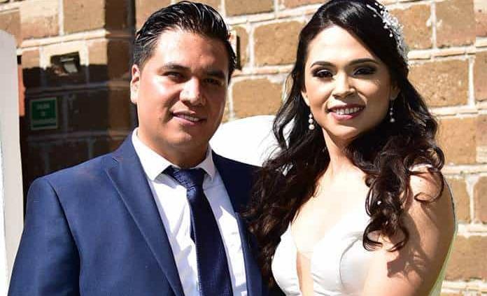 Marcela Alfaro y Francisco Cervantes efectúan su enlace civil