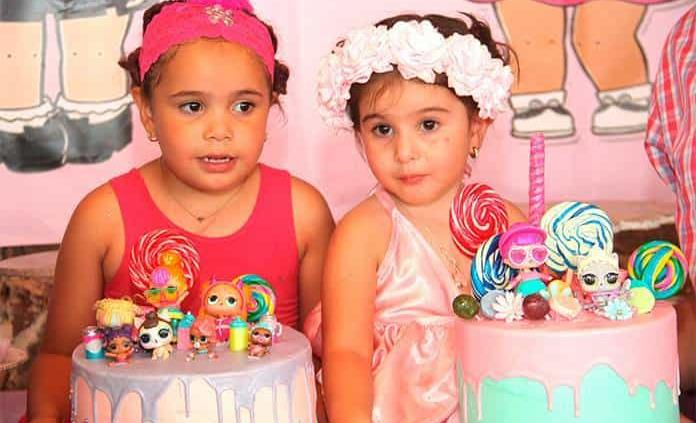 Olivia y Emilia Castanedo Lara celebran felices su cumpleaños