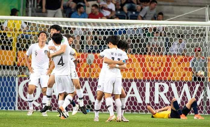 Ucrania y Corea del Sur, a final de Mundial Sub 20