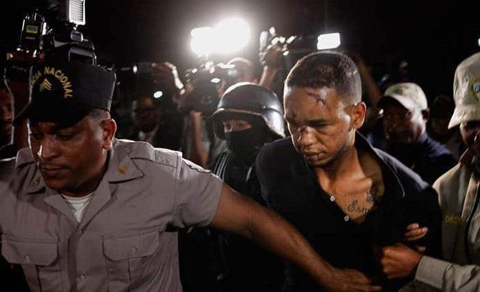 Imponen 1 año de prisión preventiva a los 9 acusados de participar en ataque a David Ortiz