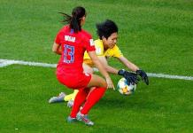 Portera que recibió 13 goles en el Mundial agradece gesto de delantera