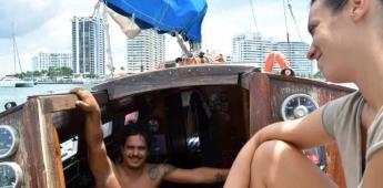 La pareja que cruzó el Atlántico a vela con pasajeros que hacían barcostop