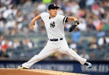 Tanaka poncha a 10; Yanquis blanquean a Rays
