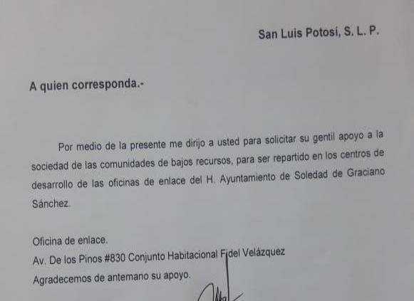 Advierten sobre falsa gestora; se hacía pasar como empleada de Soledad para pedir dinero