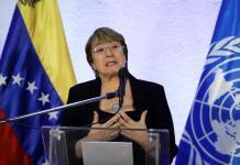 Bachelet pide al gobierno de Maduro liberar a los presos políticos
