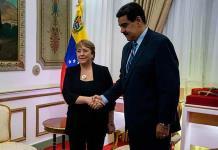Bachelet pide liberar a presos políticos