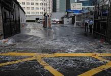 Dispersan protesta tras bloqueo en Hong Kong