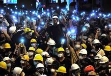 Hongkoneses exigen una respuesta a sus reclamos